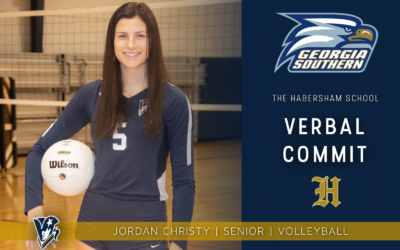 Jordan Christy Commits to Play Volleyball at Georgia Southern