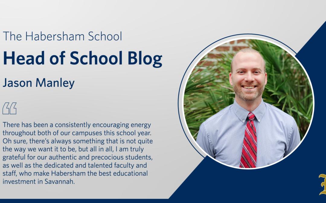 Introducing the Head of School Blog